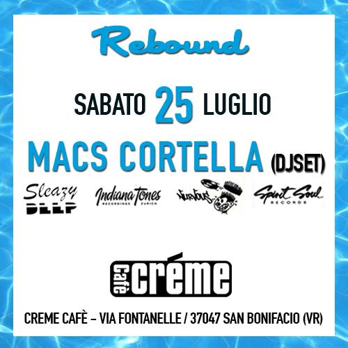 Live @ Rebound (Creme Cafè) 25.07.2015