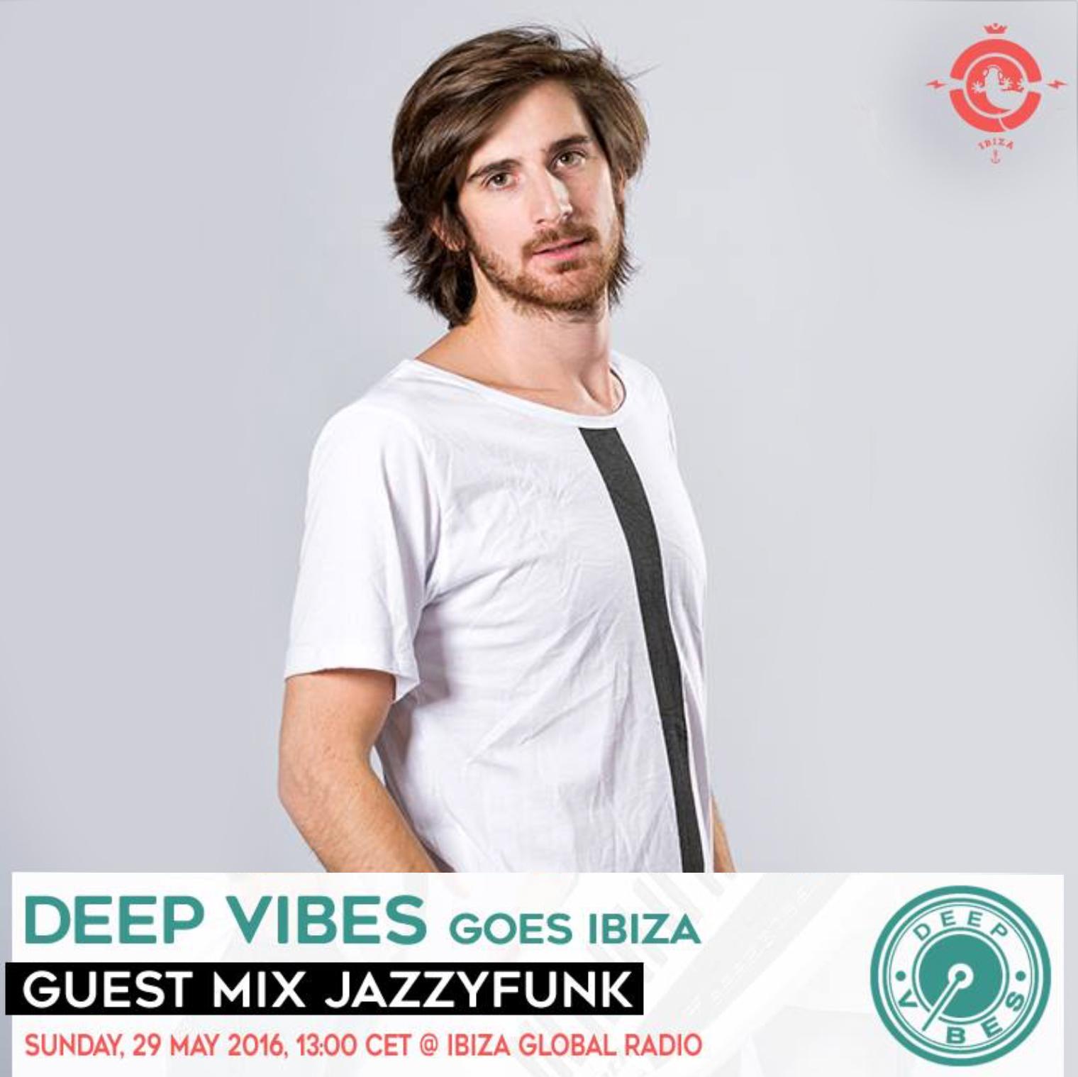 Deep Vibes on IbizaGlobalRadio 29.05.2016
